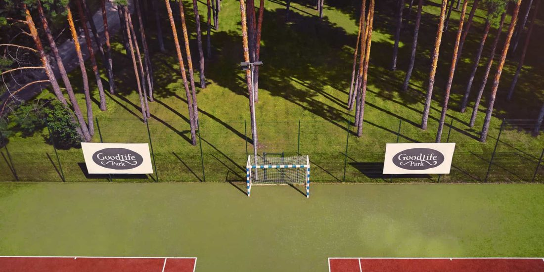 GoodLife Park infrastructure tennis court