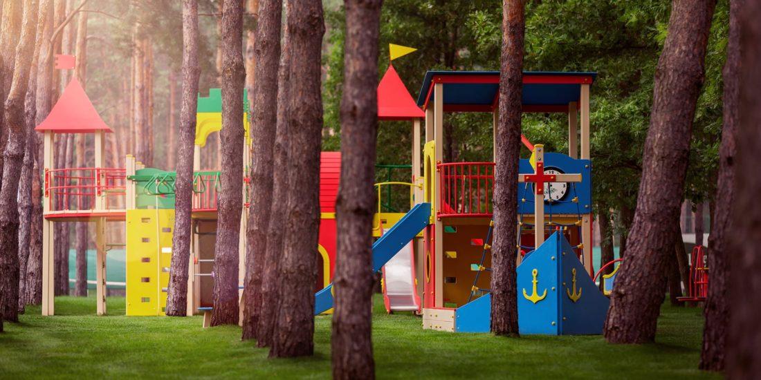 GoodLife Park infrastructure playground