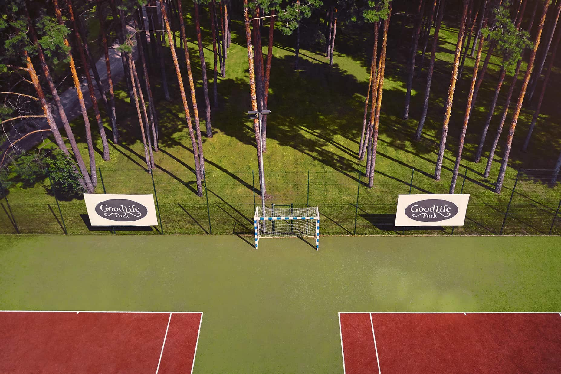 GoodLife Park tennis court